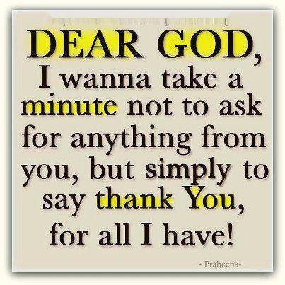 thank U Lord