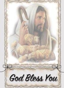 He rejoices o'er you