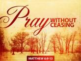 Living a Life of Prayer