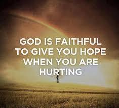 God's Faithfulness#1